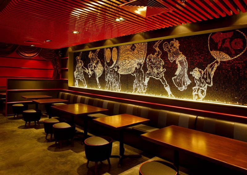 店舗デザインの作品アーガイブ デザイナーズショーケース 一風堂taoシンガポール
